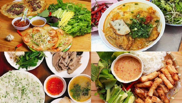 Kham pha am thuc Quy Nhon