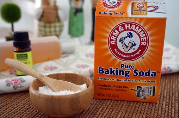 Duoi gian bang baking soda